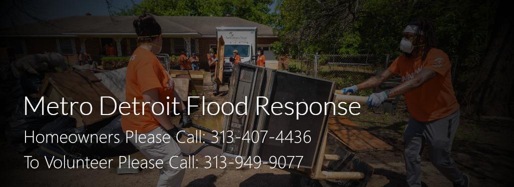 Metro Detroit Flood Response